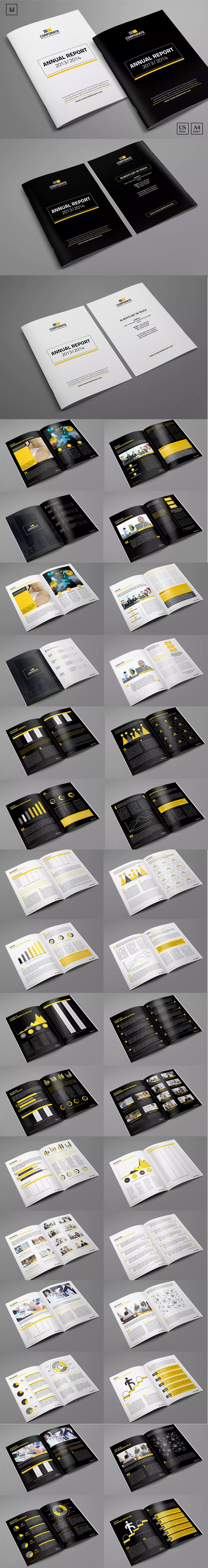 Annual Report Template INDD  Annual Reports Templates