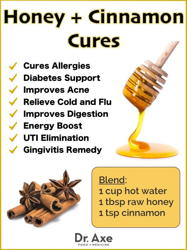 Honey and Cinnamon Benefits and Natural Cures http://draxe.com/honey-cinnamon-benefits/ #draxe #naturalcures #honey #cinnamon