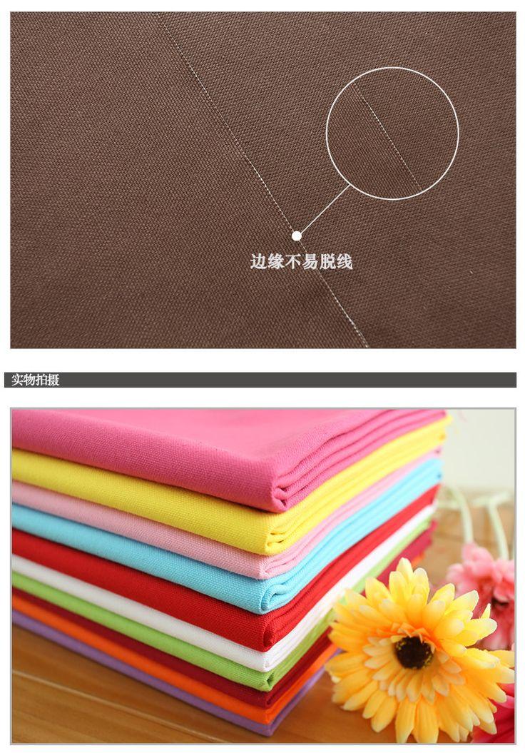 Толстые хлопковый холст ткань диван оптовой белье хлопчатобумажной ткани сплошной цвет ручной работы DIY комплекты штор полотняный -tmall.com Lynx