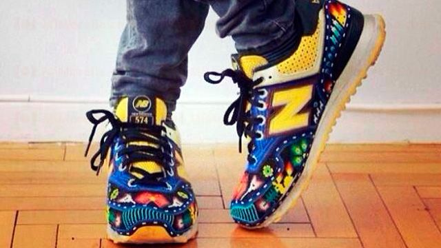 Crazy About this sneakers  Ricardo Seco NYFW SS15