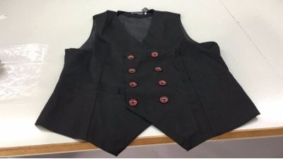 Business Formal Double Breasted Suit Vest British Style Waistcoats for Men on Sale-NewChic Mobile