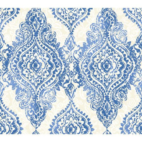 Wallpap Her Cobalt Blue And Champagne Boho Chic Wallpaper Wallpaper Wall Decor Home Decor