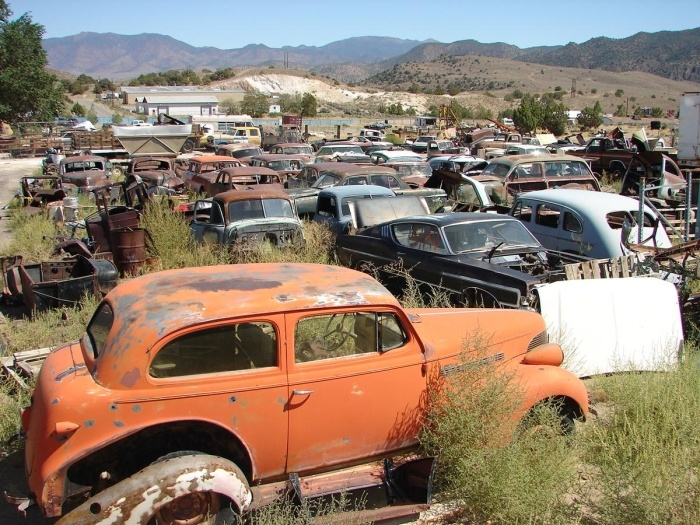 38 year collection of classic cars and trucks,loose body parts,ratrod parts