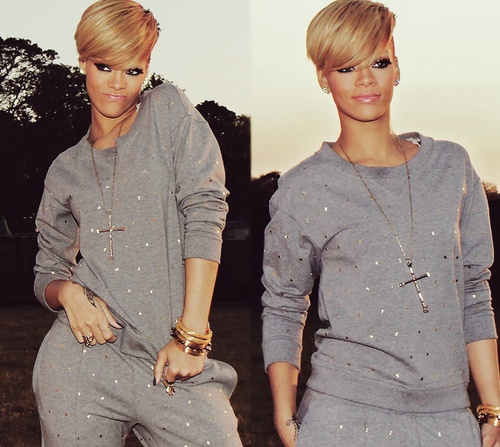 Blond Ambition, Rihanna can rock any style and look Fierce.