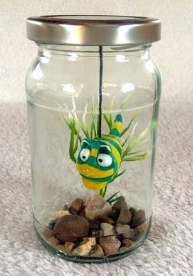 Fish in a jar charlie creatures in jars pinterest for Fish in a jar