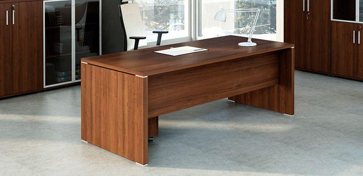 Quando recto -- Características: Quando es un escritorio en L fabricado con melamina de alta resistencia. Infórmate más sobre este mueble dándole clic a la imagen.