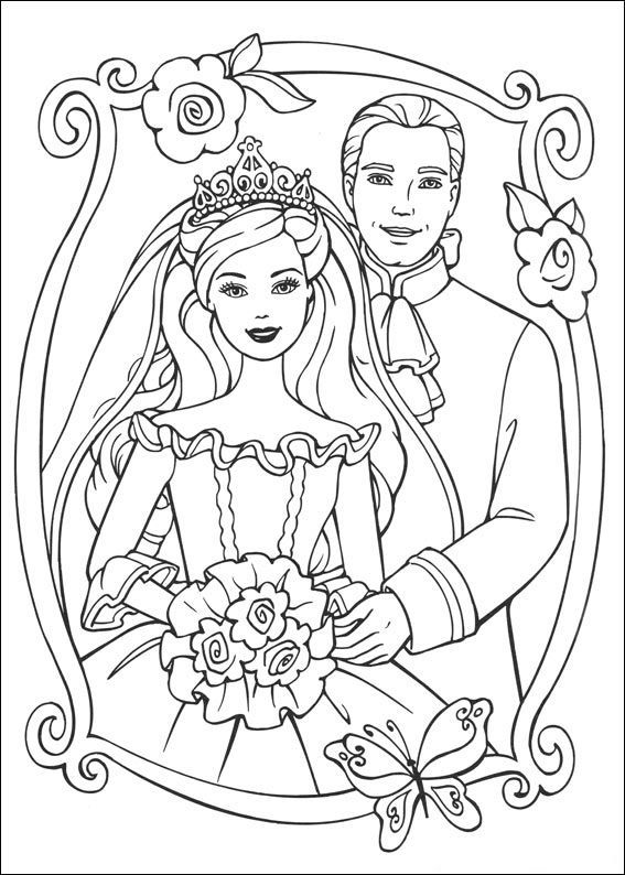 Barbie coloring pages for girls - Topcoloringpages.net | 794x567