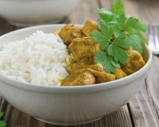 Curry de poulet express au Cookeo
