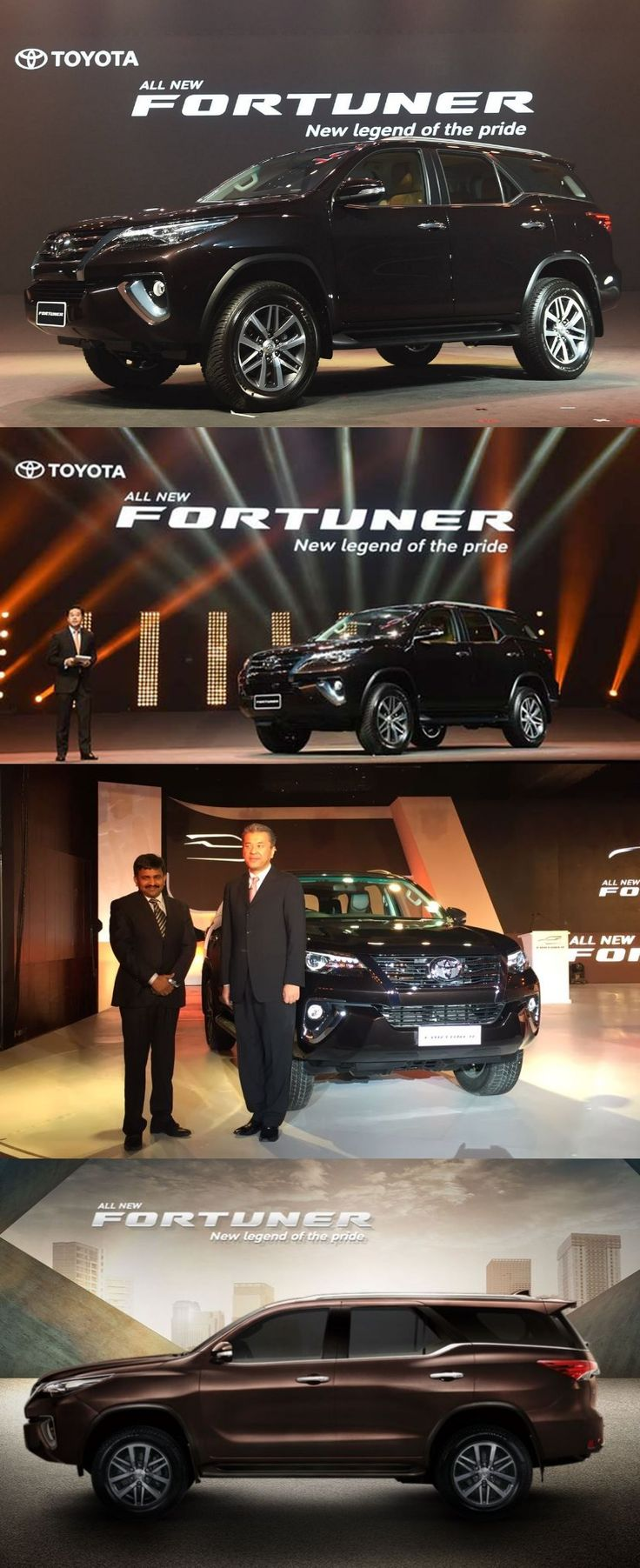 All-New 2016 Toyota Fortuner Launched in India, Starting at INR 25.92 Lakh