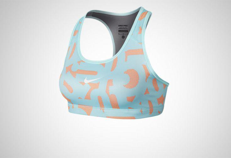 #Nike Pro Printed Bra #Sklep_Biegacza