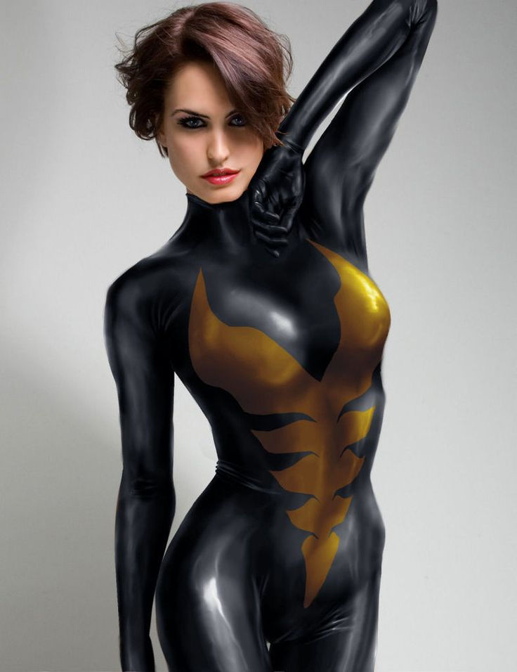 It's hard to do manips of Wasp, Black Widow and others, because attractive women with short hair are exceedingly rare.
