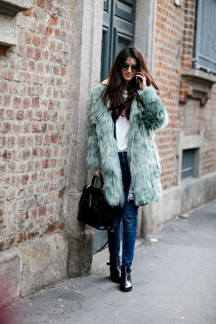 Milan EmeraldFurCoat