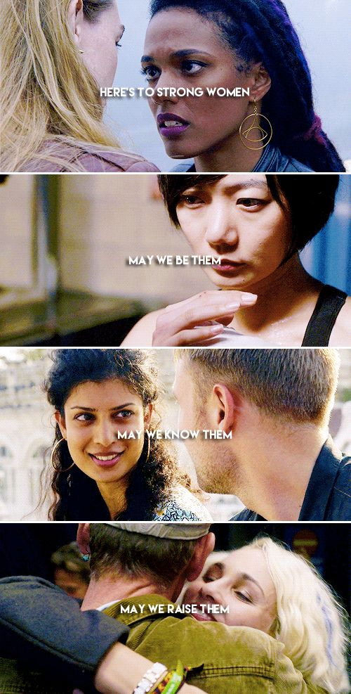 Here's to strong women #sense8