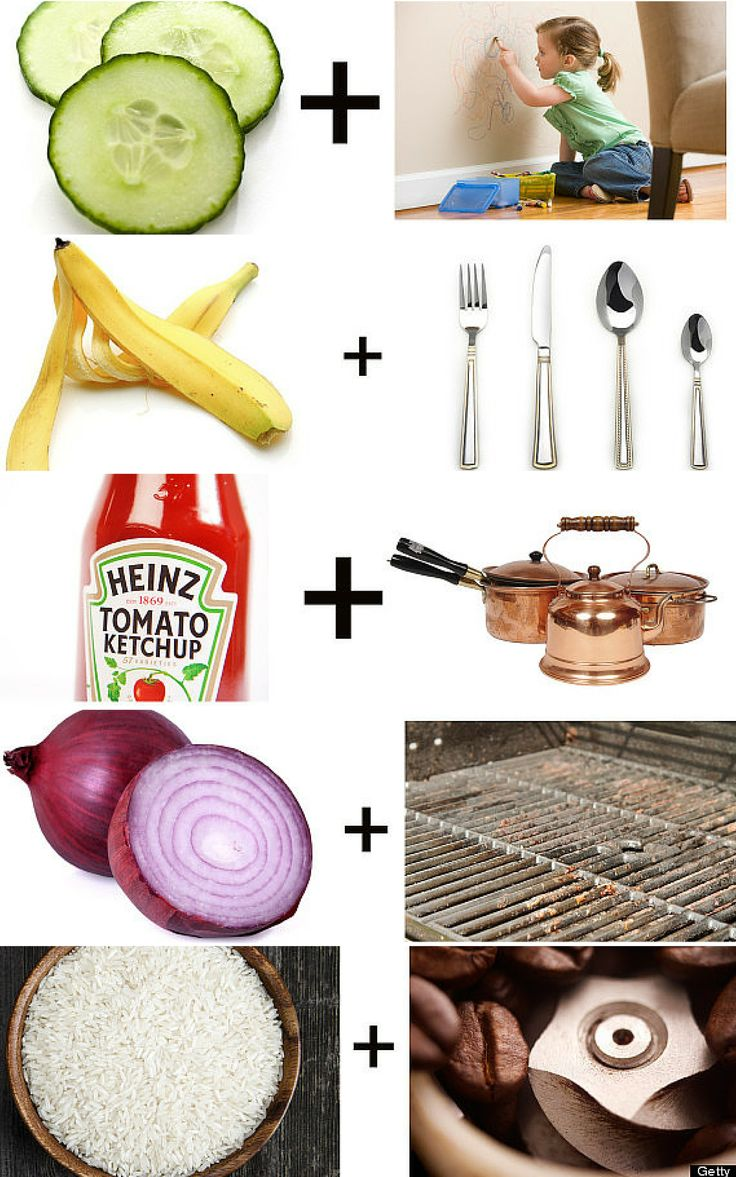 Fun fact: these foods double as cleaning products!