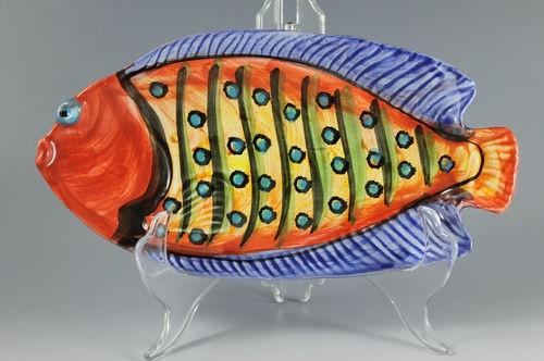 Vietri Pottery Made in Italy Relish Fish Tray   eBay