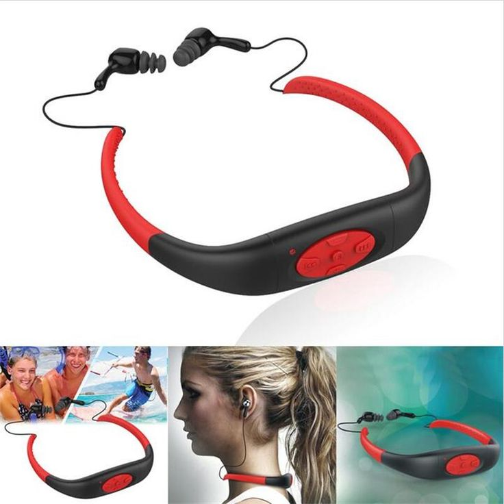 Fashionable 100 Waterproof Sport Stereo 8GB MP3 Player Music Media Player Underwater with FM Radio For. Click visit to buy