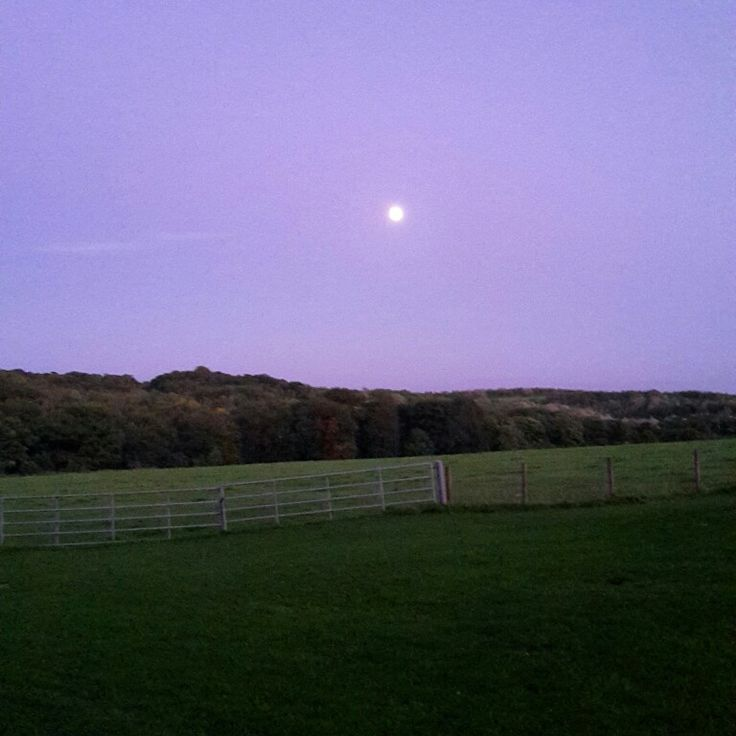 Mr moon #lastnight #nofilter #countryside #Yorkshire #landscape #photography