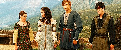 Once a king or queen of Narnia, always a king or queen.