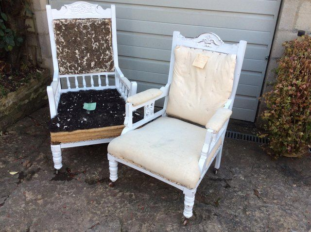 Edwardian armchairs For Sale in Falmouth, Cornwall | Preloved
