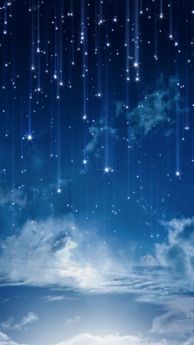 Sky Bright Moon Iphone Stars Wallpaper Best Iphone Wallpaper Galaxy Universe Milky Way Sky Blue Star Wall Star Wallpaper Blue Star Wallpaper Galaxy Wallpaper