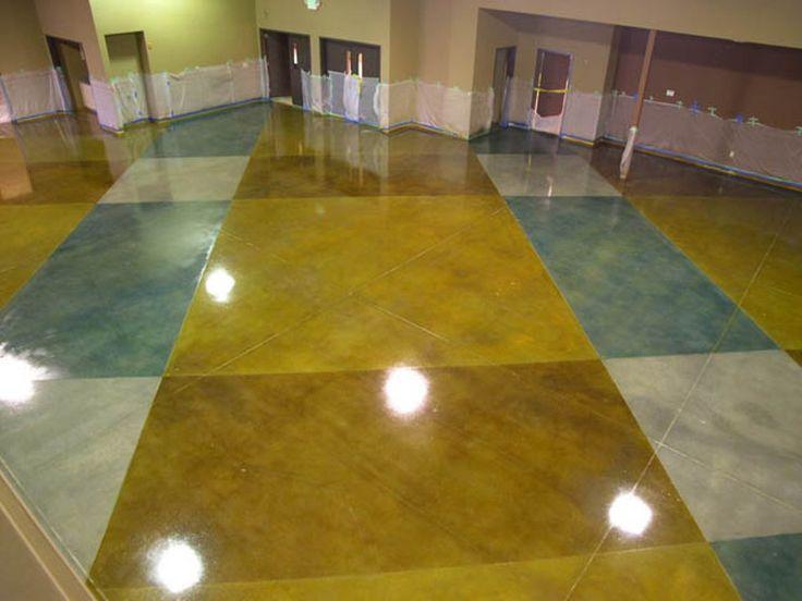 Decorative Concrete Painting : Best images about floor on pinterest diy countertops
