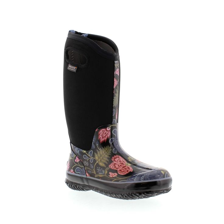 Bogs winter boots provide exceptional warmth and cushioning while offering easy-on pull handles for when you are in a rush out the door. Fully waterproof and comfort rated to as low as -40°C, these boots are perfect for our cold Canadian winters.