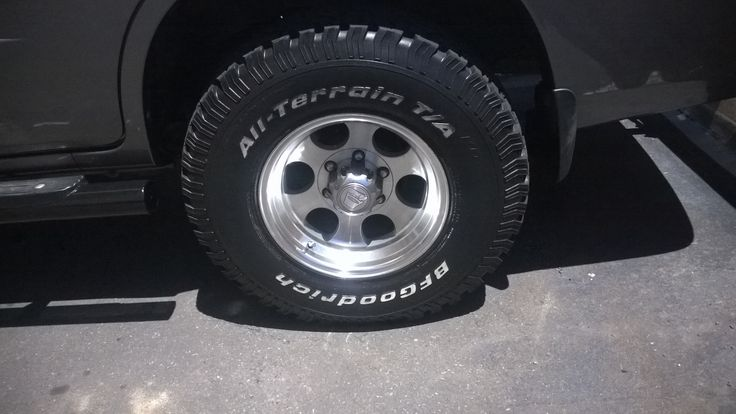 A-Line rims for Terracan
