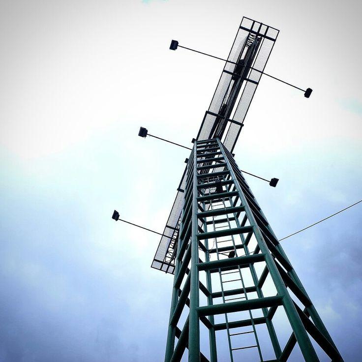 Tower. Hexagonal architect