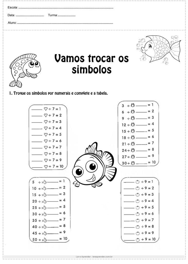 Pin Em Atividades De Matematica Divertidas