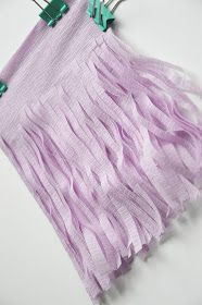 creating means life: DIY GARLAND DIY Easy Fast Beautiful Spring Purple Crepe paper Girly