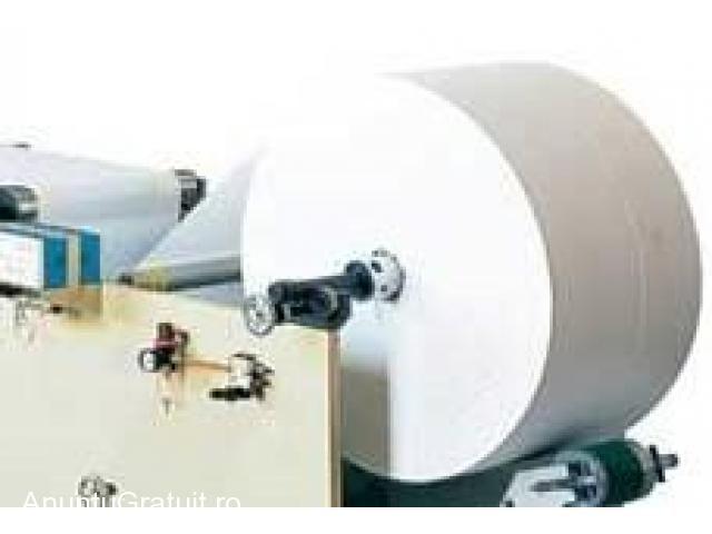 Echipament fabricare tuburi carton,masina servetele