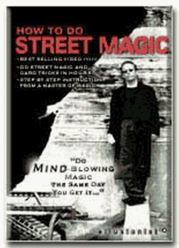 How To Do Street Magic DVD by Brad Christian - Magic Tricks by Ellusionist.com