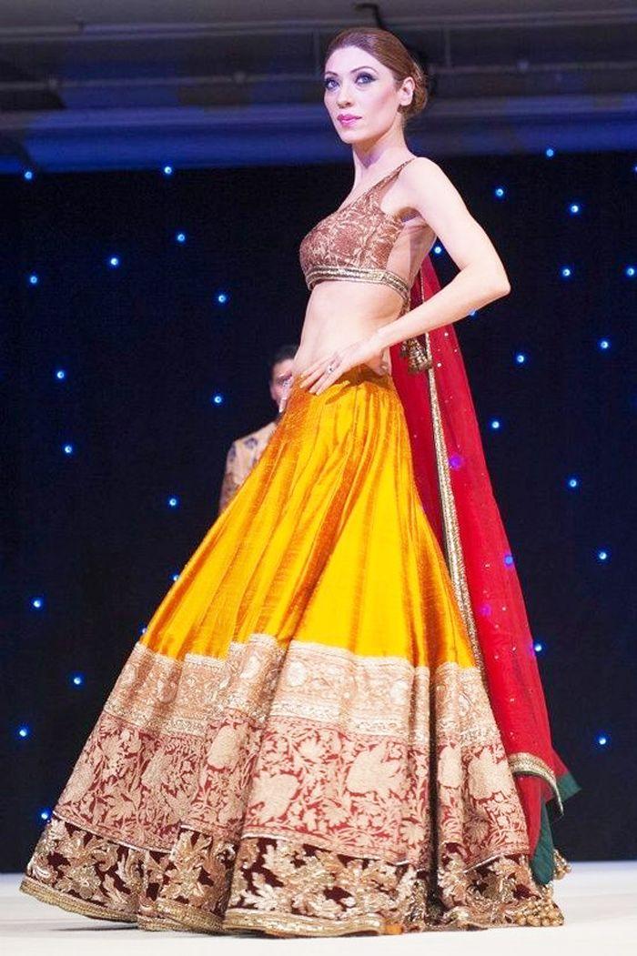 Indian Bridal Wedding Lehengas Gowns 2016 2017