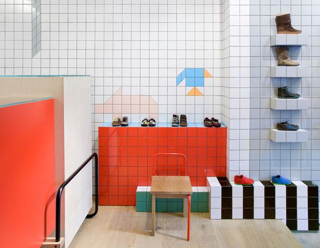 Camper store, London by Tomás Alonso