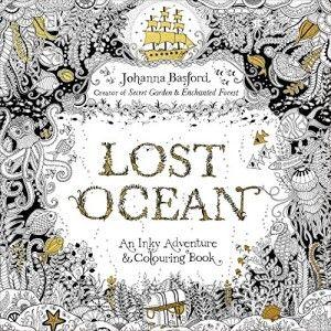 Lost Ocean: An Inky Adventure & Colouring (Johanna Basford) Kniha