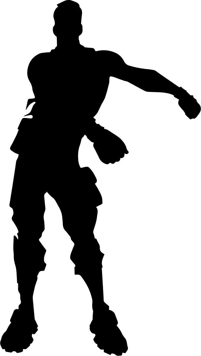Fortnite Clipart Fortnite Silhouettes Fortnite Svg Fortnite Png Fortnite Fonts Fortnite Logos Dance Silhouette Silhouette Silhouette Printables