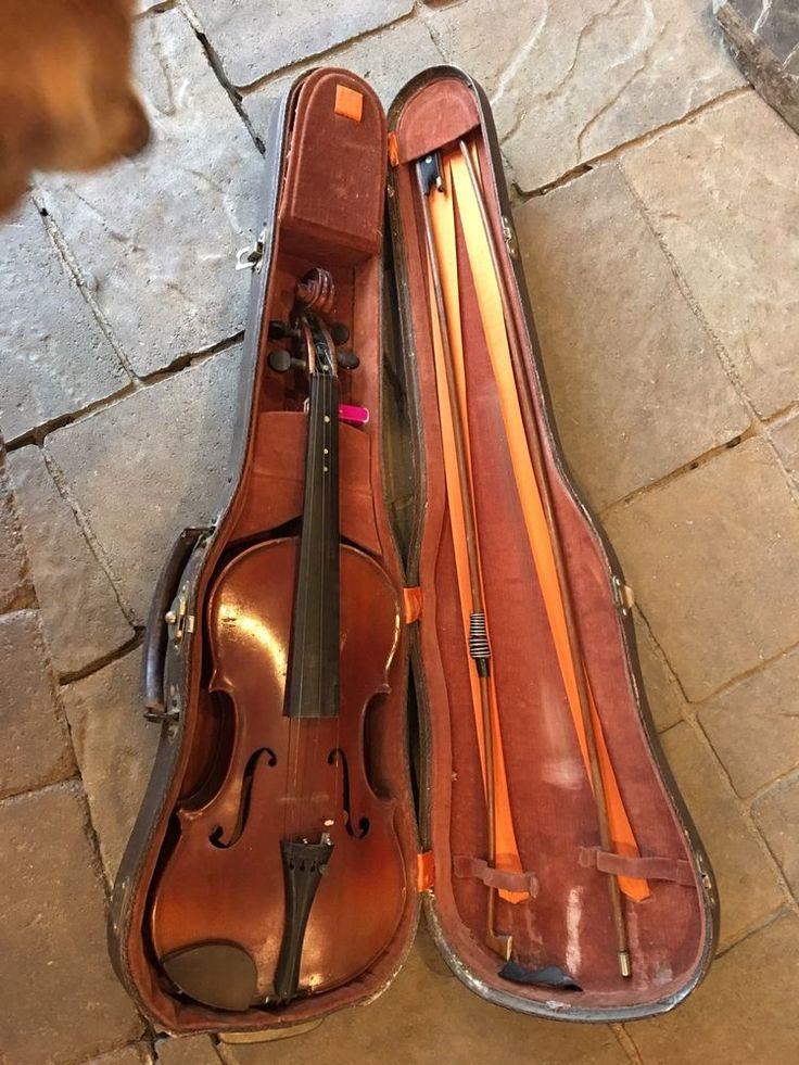 Antique Antonius Stradivarius Cremonensis Faciebat Anno 17 Violin With Case  | eBay