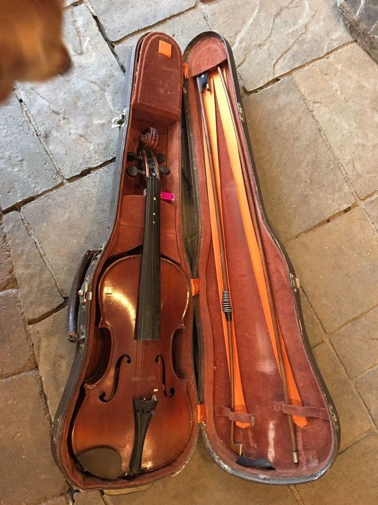 Antique Antonius Stradivarius Cremonensis Faciebat Anno 17 Violin With Case  | eBay