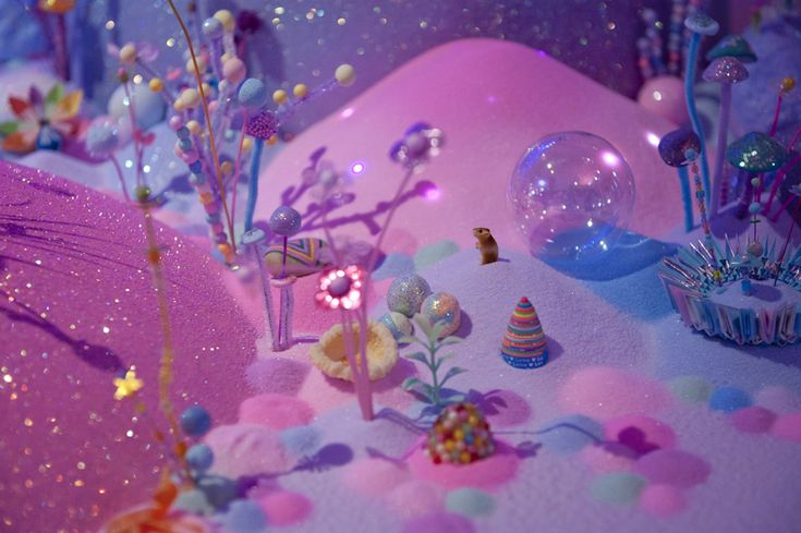 Candyland Landscapes By Pip & Pop Take Us Into A Sugar-Coated Dream Wold