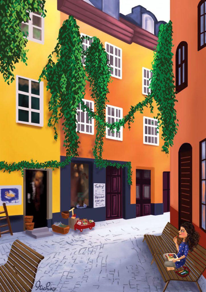 Stockholm Old Town, Sweden.