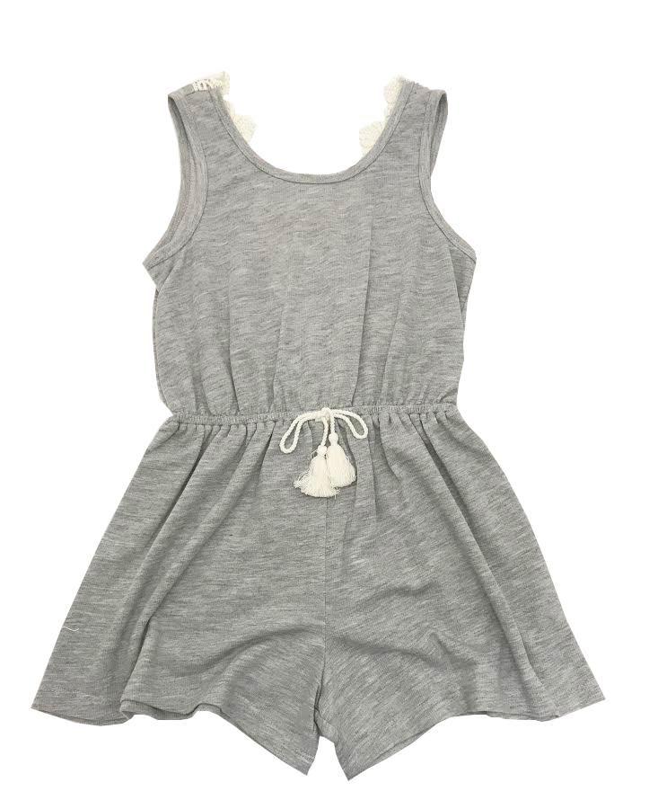 6b4c3c795537 Truly Me Grey Lace Romper The NameDropper www.namedropperkids.com  trendy   teen  tween  style  fashion  cute  inspiration  lov…
