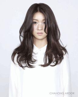 Long Wave Bold Perm #long #hair #beauty #cut #chahongardor