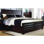 $1630.00  PULASKI Furniture - Tangerine 330 Cal King Storage Panel Bed w/ Storage on Both Sides - 330180-1-8
