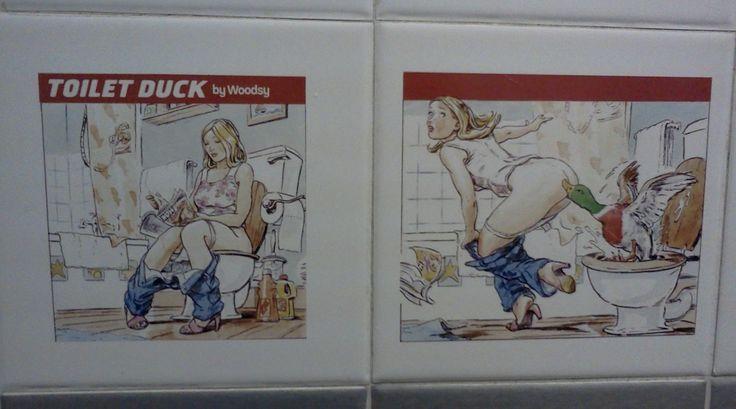 toilet duck woodsy ad #toiletduck #duck