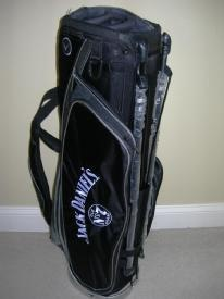 jack daniels signature callaway golf stand bagat the
