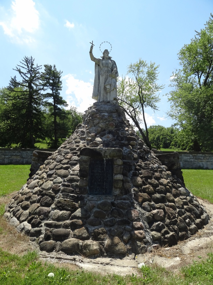 Roman Catholic: National Shrine of the North American Martyrs - Statue of Saint Isaac Jogues; Auriesville, NY