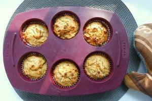 Appel muffins à la Broodbuik recept ~ lekker, makkelijk, koolhydraatarm ~ www.con-serveert.nl