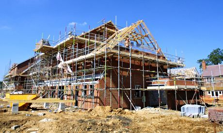 A surge in housebuilding since the beginning of 2014 has boosted the construction sector at levels not seen since 2007.