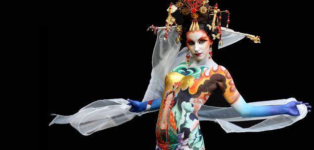 Resultado de imagen para  world festival body painting
