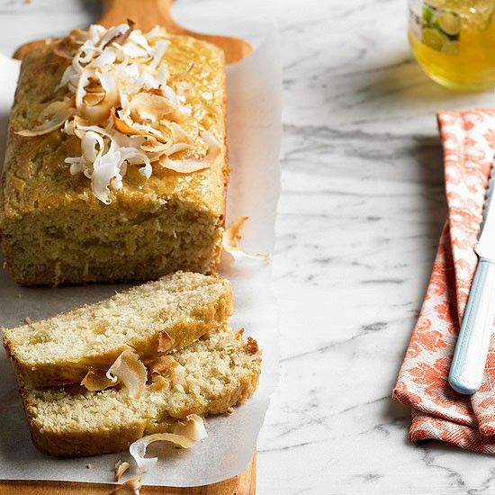 Coconut Lime Bread From Bhg March 2013 Magazine Desserts Pinterest Libraries Magazines